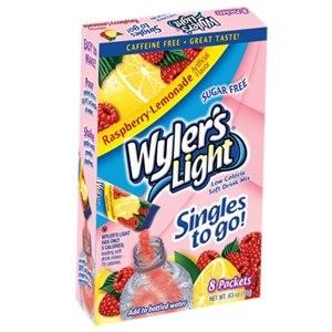 Wylers Light Singles To Go -Raspberry Lemonade 8pk |
