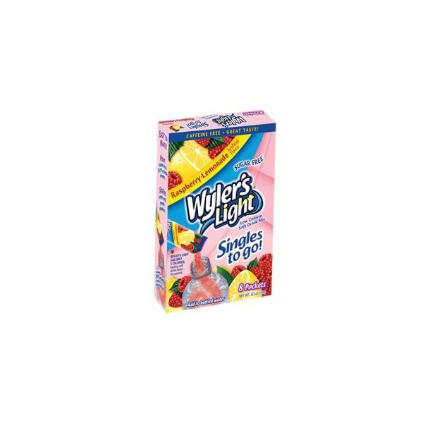 Wylers Light Singles To Go Raspberry Lemonade 8pk Usa Foods