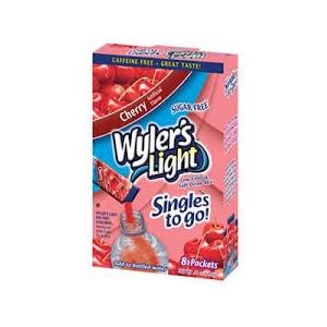 Wylers Singles To Go -Cherry 8pk |
