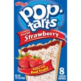 Poptarts Frosted Strawberry 8 Pack