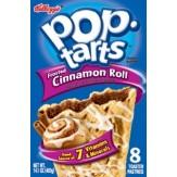 Poptarts Cinnamon Roll 8 Pack 400g
