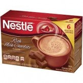 Nestle Hot Cocoa mix 6 pk- Rich Milk Chocolate 121.2g