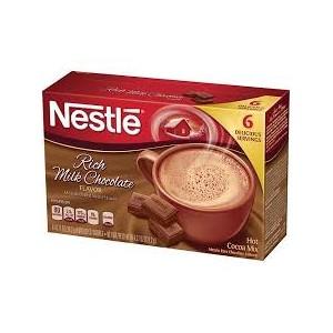 Nestle Hot Cocoa mix 6 pk- Rich Milk Chocolate 121.2g |