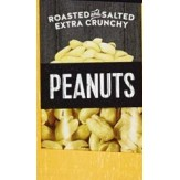 Kirklands Nuts Roasted and Salted Extra Crunchy Peanuts 45g