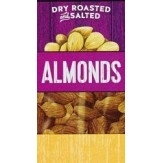 Kirklands Nuts Roasted and Salted Almonds 45g