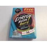 4C Totally Light 2 Go Energy Rush Powder Berry 18 pack