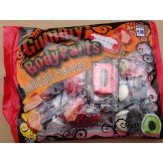 Gummy Body Parts 25ct 250g