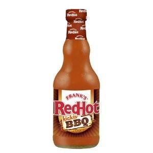 Franks RedHot Kickin BBQ Sauce -354ml  |