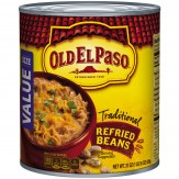 Old El Paso Traditional Refried Beans 878g