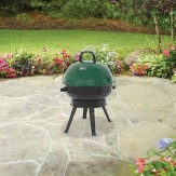 Backyard 14.5 in Round Portable Charcoal Grill, Green