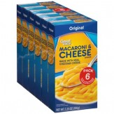 Great Value Original Macaroni and Cheese Dinner 5 Pack