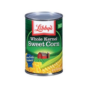 Libby's Whole Kernel Sweet Corn 425g |