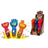 Rock Paper Scissors Hand Lollipop & Game