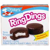 Drakes Ring Dings Single Pack 41g
