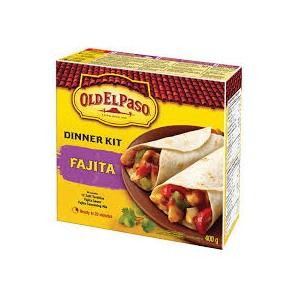 Old El Paso Dinner Kit - Fajitas 354g Dated |