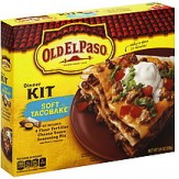 Old El Paso Dinner Kit - Soft Tacobake 238g