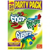 Fruit by the Foot/Fruit Roll-Ups/Fruit Gushers Party Pack Fruit Flavored Snacks  24 ct
