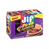 Jif  To Go  Peanut Butter Cups- Chocolate Silk 8 pk