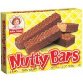 Little Debbie Nutty Buddy Bars 12 Pack DATED