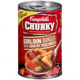 Campbells Chunky Sirlion Burger with Country Vegetable Soup 533g