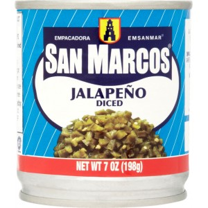 San Marcos Whole Jalapenos 198g |
