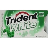 Trident White 16 Pce Pack -Spearmint