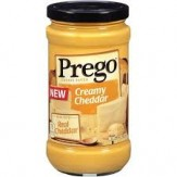 Prego Creamy Cheddar Cheese Sauce 411g