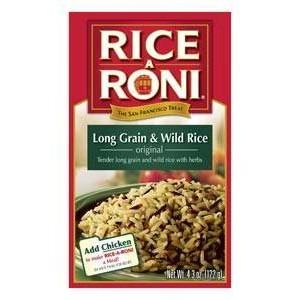 Rice A Roni-Long Grain & Wild Rice 122g |