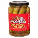 Famous Dave's Pickle Spears 710 ml