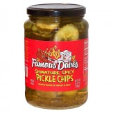 Famous Dave'sSignature Spicy Pickle Chips 710 ml