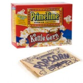 Prime Time Microwave Popcorn 3 pack- Kettle Corn