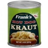 Frank's Hot Dog Kraut 227g