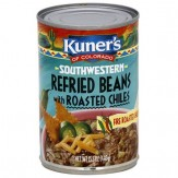 Kuner's Southwestern Refried Beans With Roasted Chiles 453G