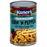 Kuner's Southwestern Extra Crispy Corn N Peppers 432g