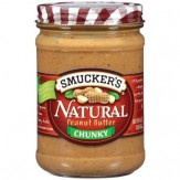 Smucker's Natural Chunky Peanut Butter 454g