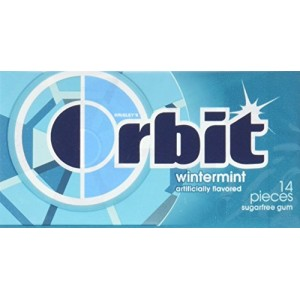 Orbit Sugar Free Gum, Wintermint, 14 Sticks |