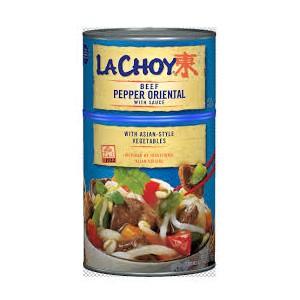 LaChoy Beef Pepper Oriental 1.19kg |