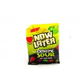 Now and Later Extreme Sour Peg Bag 120g SUPER SPECIAL 50% OFF