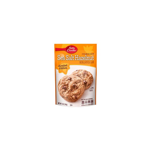 nut cookie mix 397g betty crocker sea salt hazelnut nut cookie mix