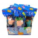 Pez Phineas & Ferb x 3 Assorted