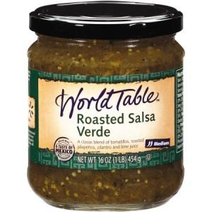 World Table Roasted Salsa Verde 454g |