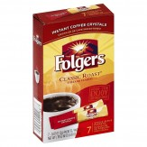 Folgers Classic Roast® Instant Coffee Crystals Packets