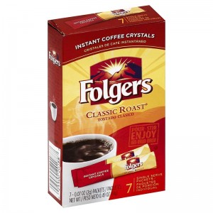 Folgers Classic Roast® Instant Coffee Crystals Packets |