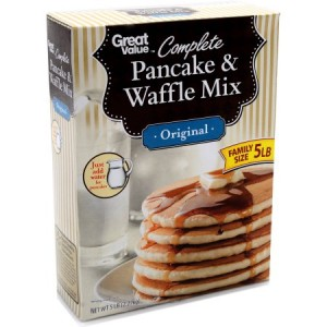 Great Value Complete Pancake and Waffle Mix 2.27kg |