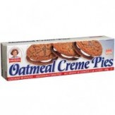 Little Debbie Oatmeal Creme Pies  459g DATED