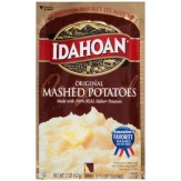 Idahoan  Mashed Potatoes- Original  57g. Pouch