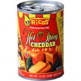 Ricos Hot & Spicy Cheddar Cheese Sauce 425g