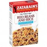 Zatarain's® Reduced Sodium Red Beans and Rice Mix 226g Box