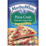 Martha White Thin & Crispy Pizza Crust Mix 184g
