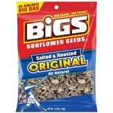 BIGS Original Salted & Roasted Sunflower Seeds 152g